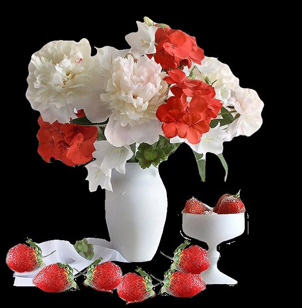 Bouquet de belles fleurs