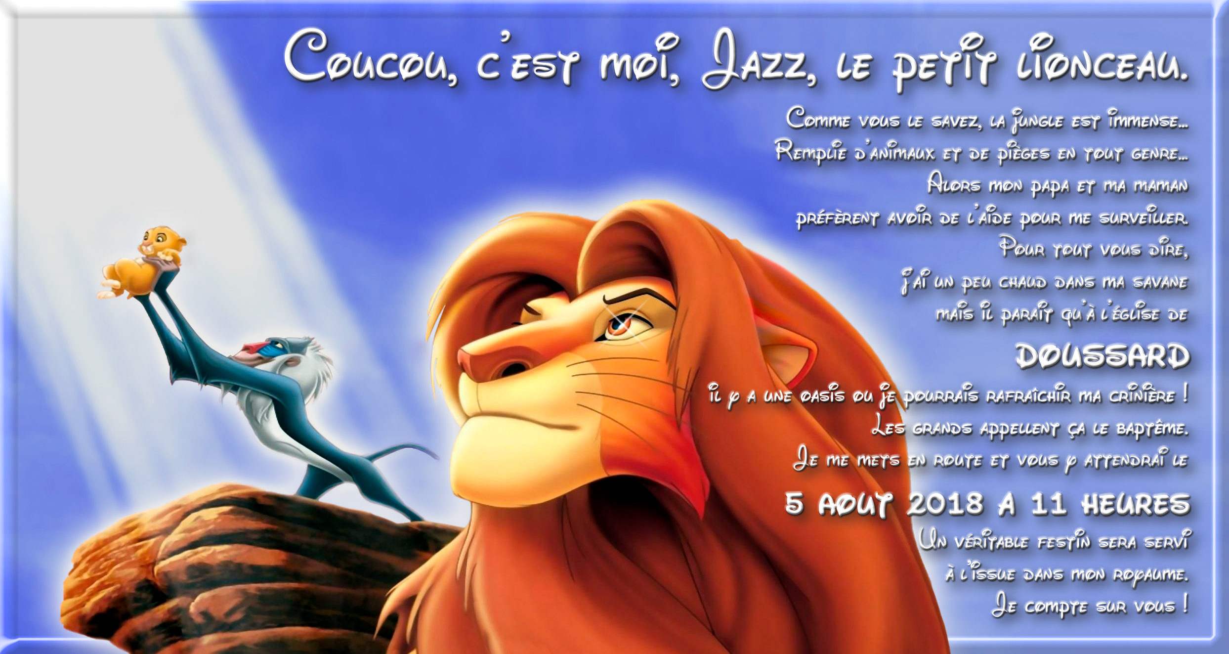 Faire part bapteme le roi lion  - Page 2 1803220304076068