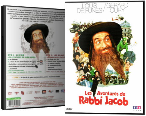 les aventures de rabbi jacob dvdrip