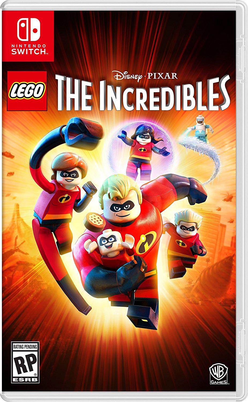 Lego Les Indestructibles Devoile Sa Jaquette Switch Nintendo Master