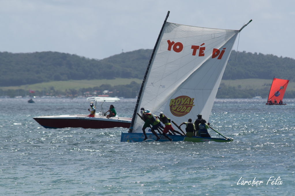 Rencontre à la Martinique : course de Yoles 180325052622632973