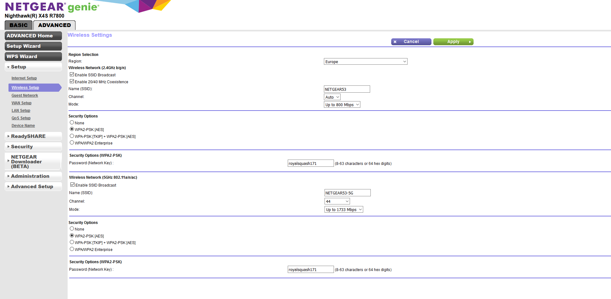Netgear R7800 slower than R7000 | SmallNetBuilder Forums