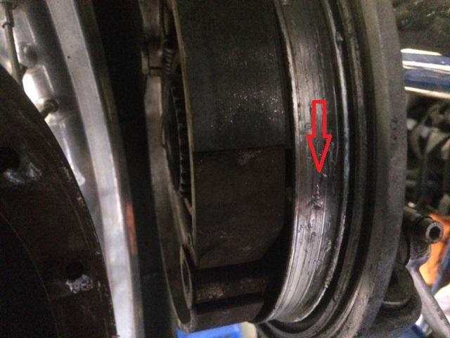 Démontage roue arrière R 90S 180325073712309062