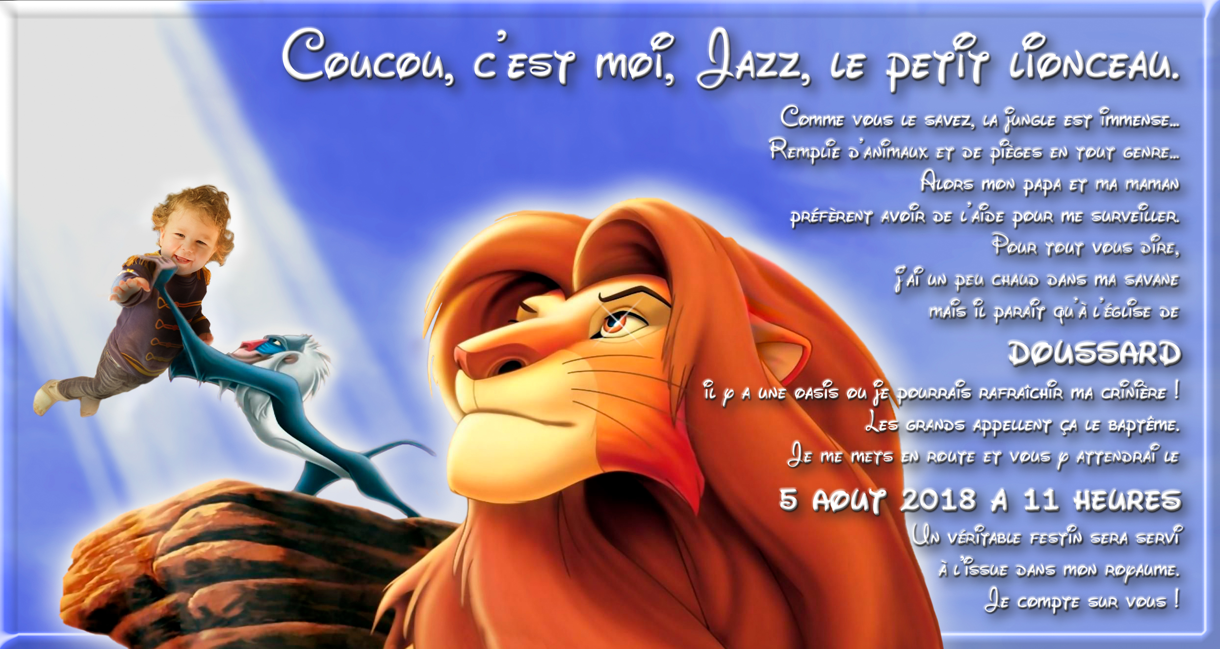 Faire part bapteme le roi lion  - Page 3 180326113517689073