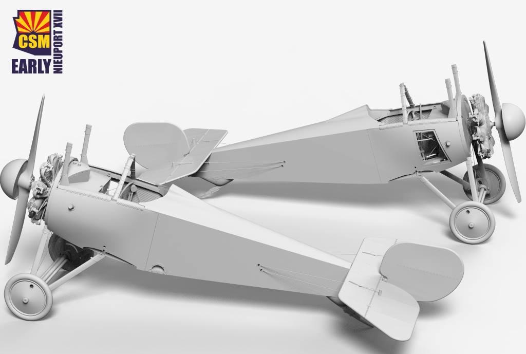 Nieuport 17 1/32 Copper State Models: les pochoirs 180327012848259122