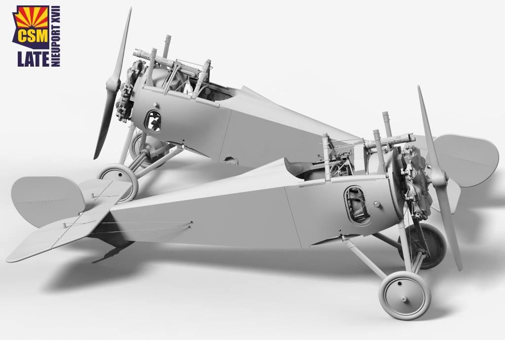 Nieuport 17 1/32 Copper State Models: les pochoirs 180327013014123601