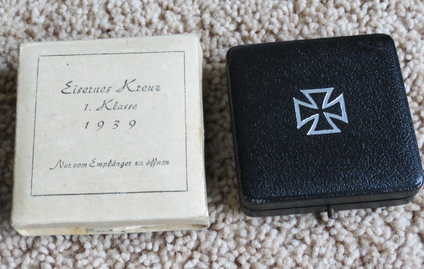 Ecrins pour Croix de Fer de 1ère Classe (EK1) 1914, 1939 et 1957 180328063314867451