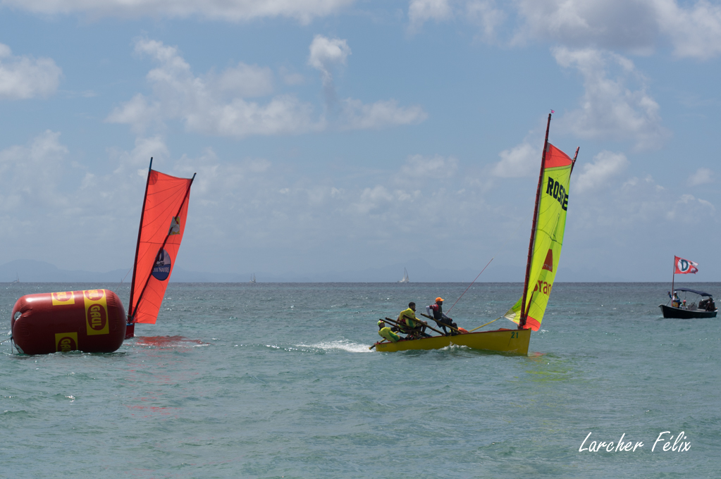 Rencontre à la Martinique : course de Yoles 18033006431010585