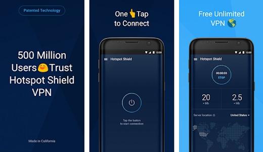 Hotspot Shield Business/Elite VPN Proxy & Wi-Fi Security v5.9.4 18040112100896522