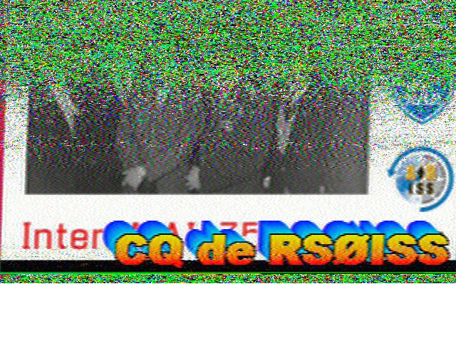 SSTV ISS de ce jour 2.4.18 180402061353114086