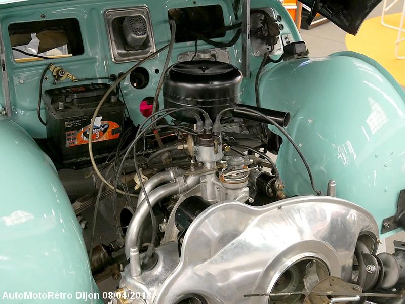 Panhard Dyna Z moteur