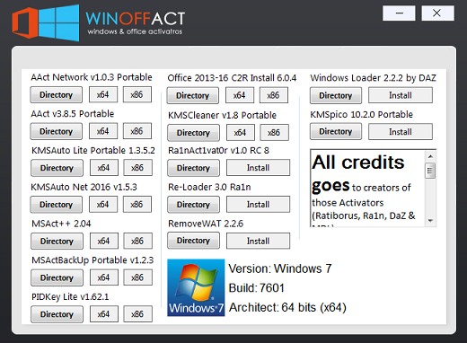 Winoffact V2 0 Windows Office Activators All In One P2p