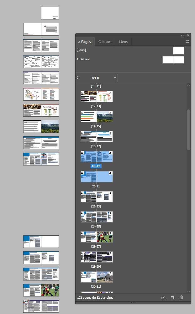 InDesign_espace vide entre pages