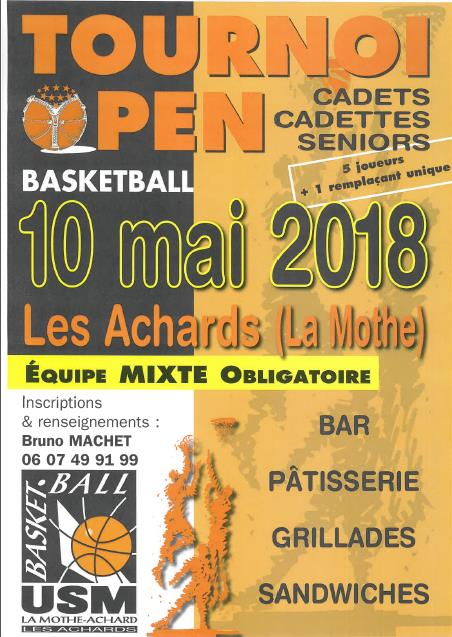 Tournoi la mothe