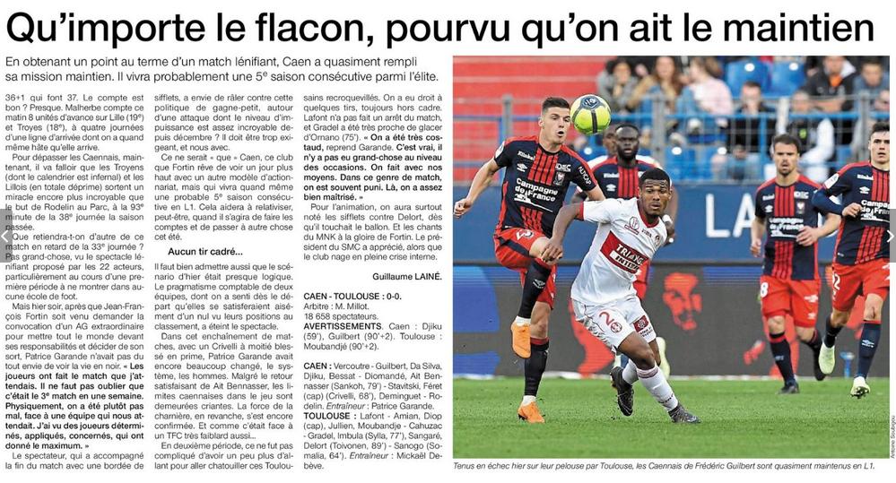 [33e journée de L1] SM Caen 0-0 Toulouse FC - Page 2 180426075819282932