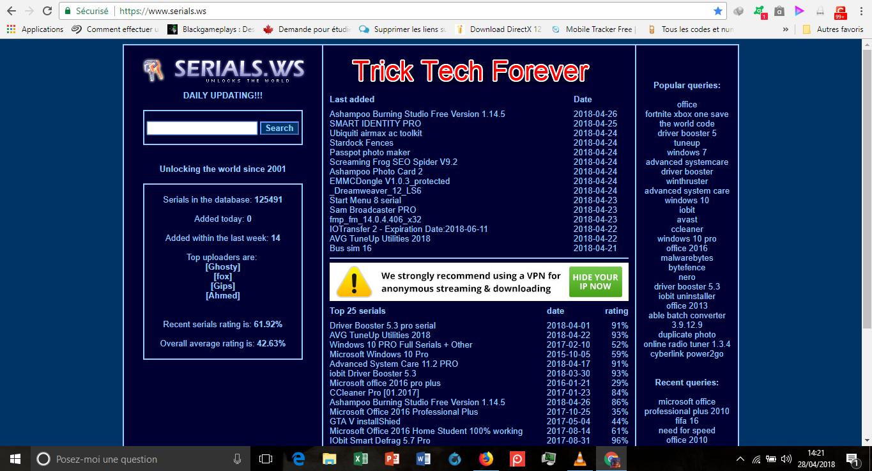 Comment trouver la clée d'activation(LICENCE) de n'importe qu'elle Logiciel  180428114152550015