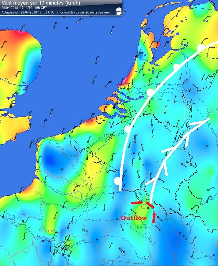Analyse - Infoclimat carte vents 2018-04-29 - 17h