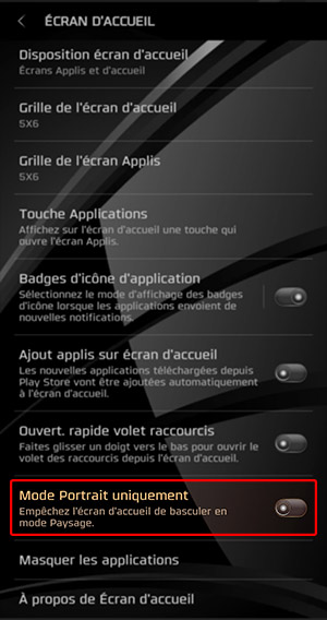 ASTUCE] - S8 port S9 > Activer la rotation auto de l'écran d