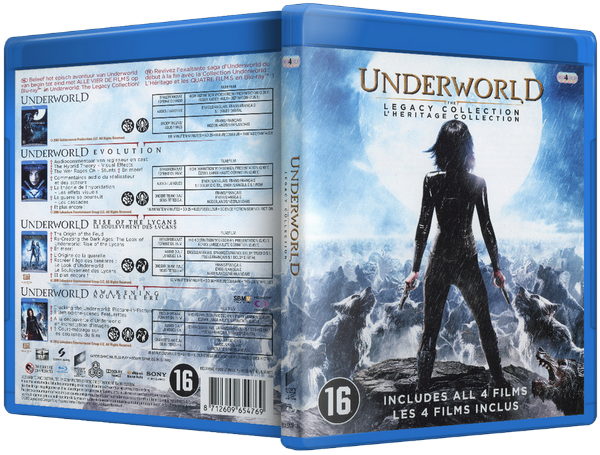 Underworld Legacy Collection 2003 2012 MULTI 1080p BluRay HDLight AC3 x264 gismo65