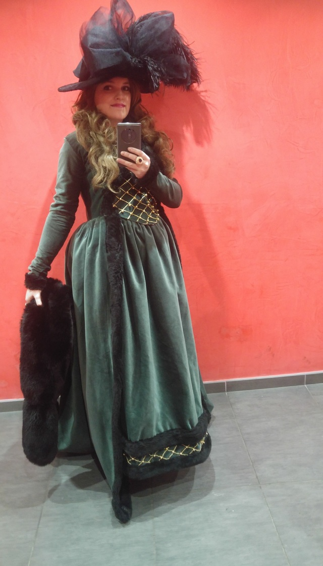 [Histo] Robe à l'anglaise verte 18050810211791439