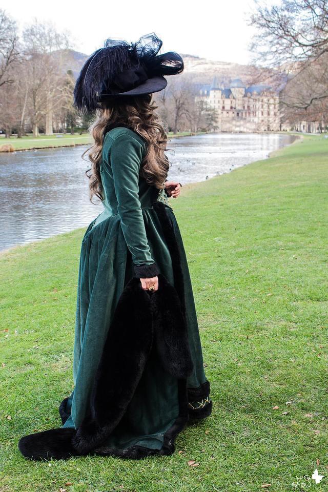 [Histo] Robe à l'anglaise verte 180508102725557078