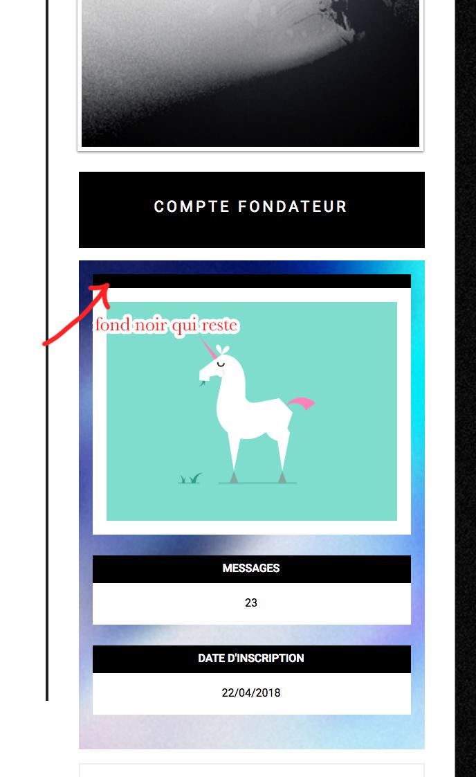Fond label profil/message qui ne se supprime pas 180519083712188220