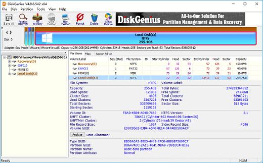 DiskGenius Professional 5.0.0.589 180522064038156631