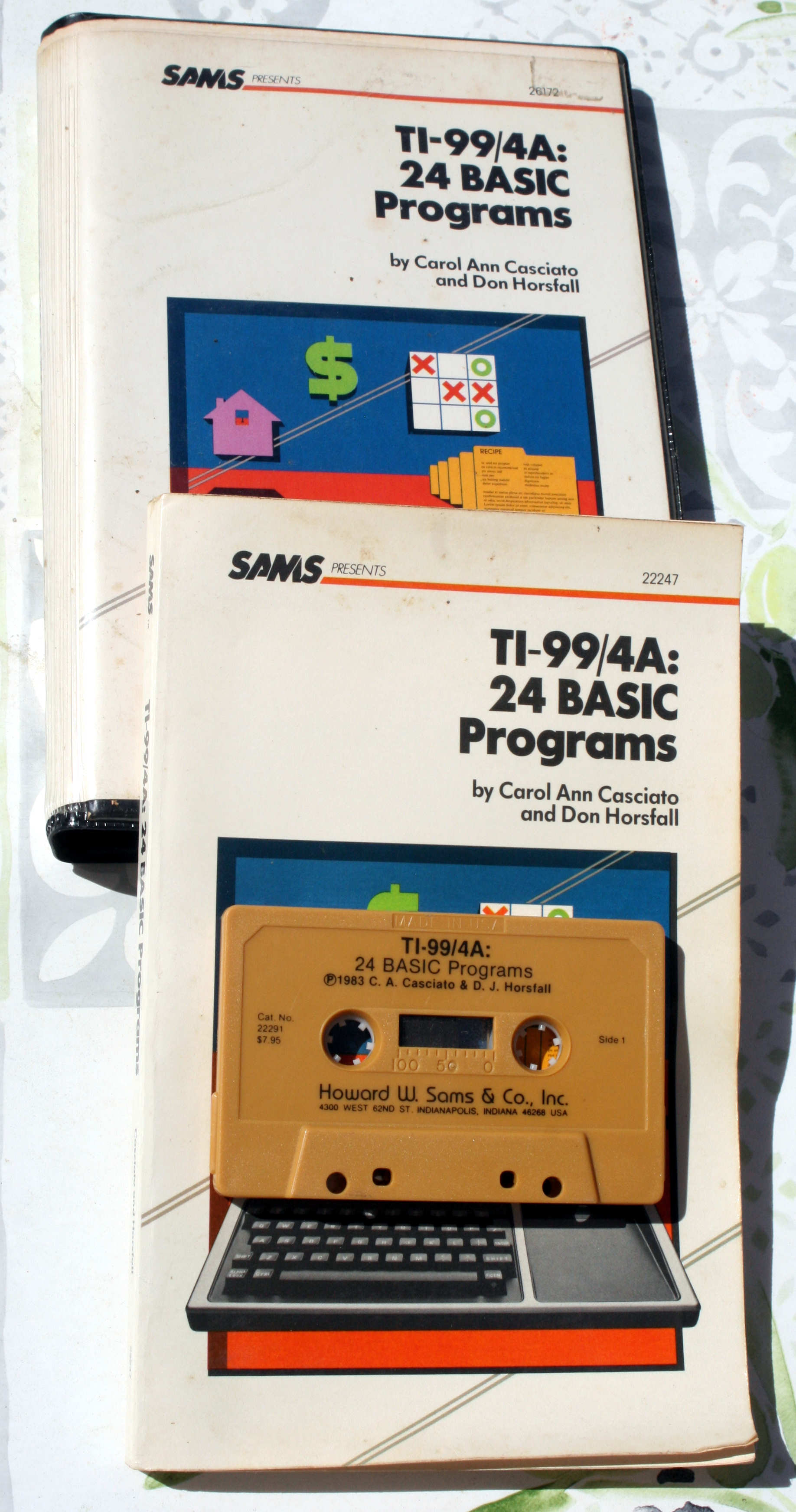 24 Basic Programs - Tape
