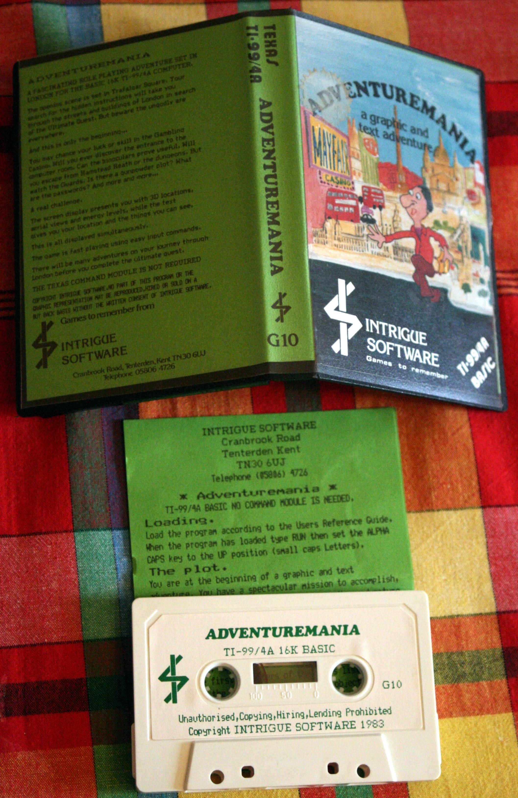 Adventuremania