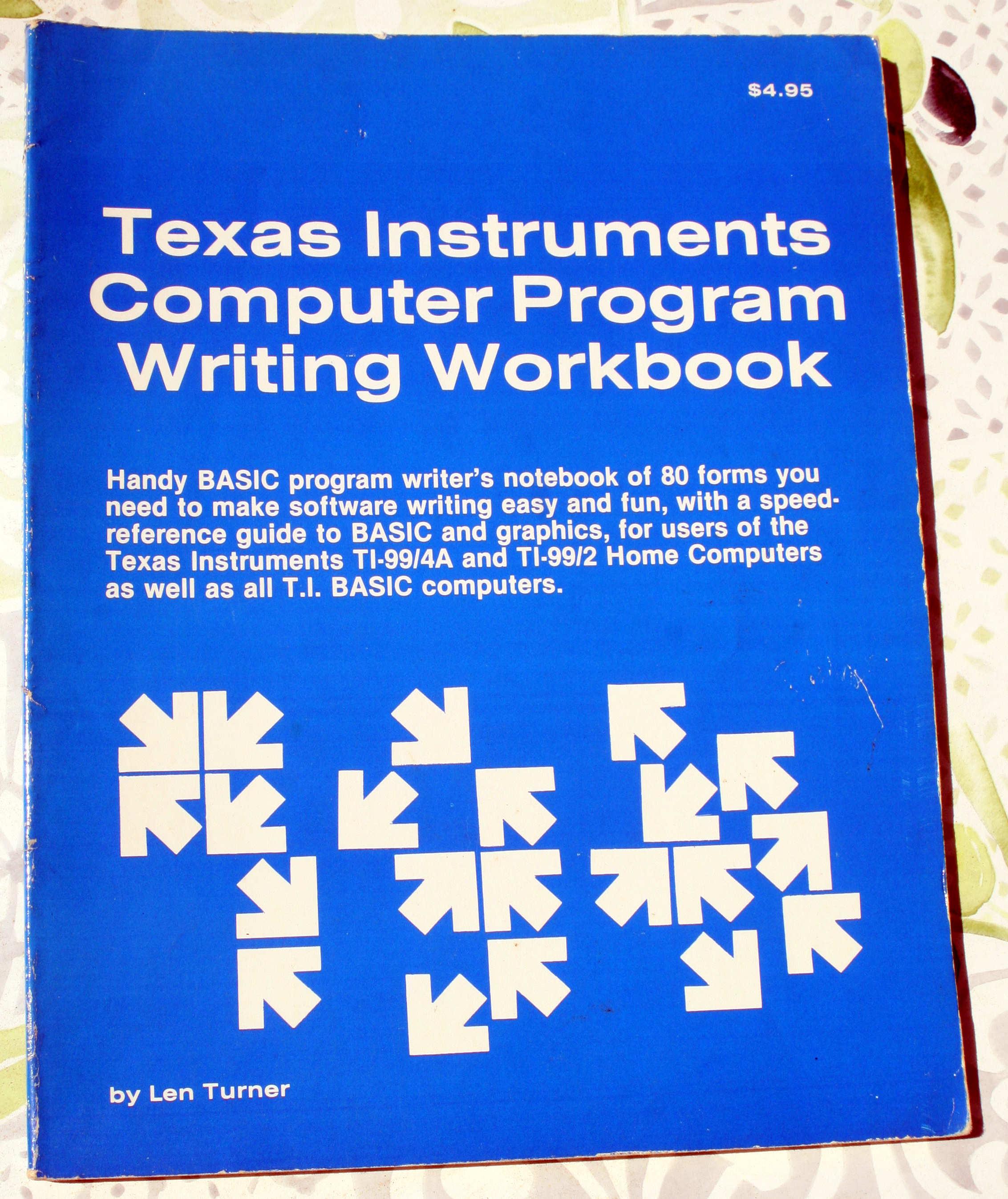 Computer Program Writing Workbook