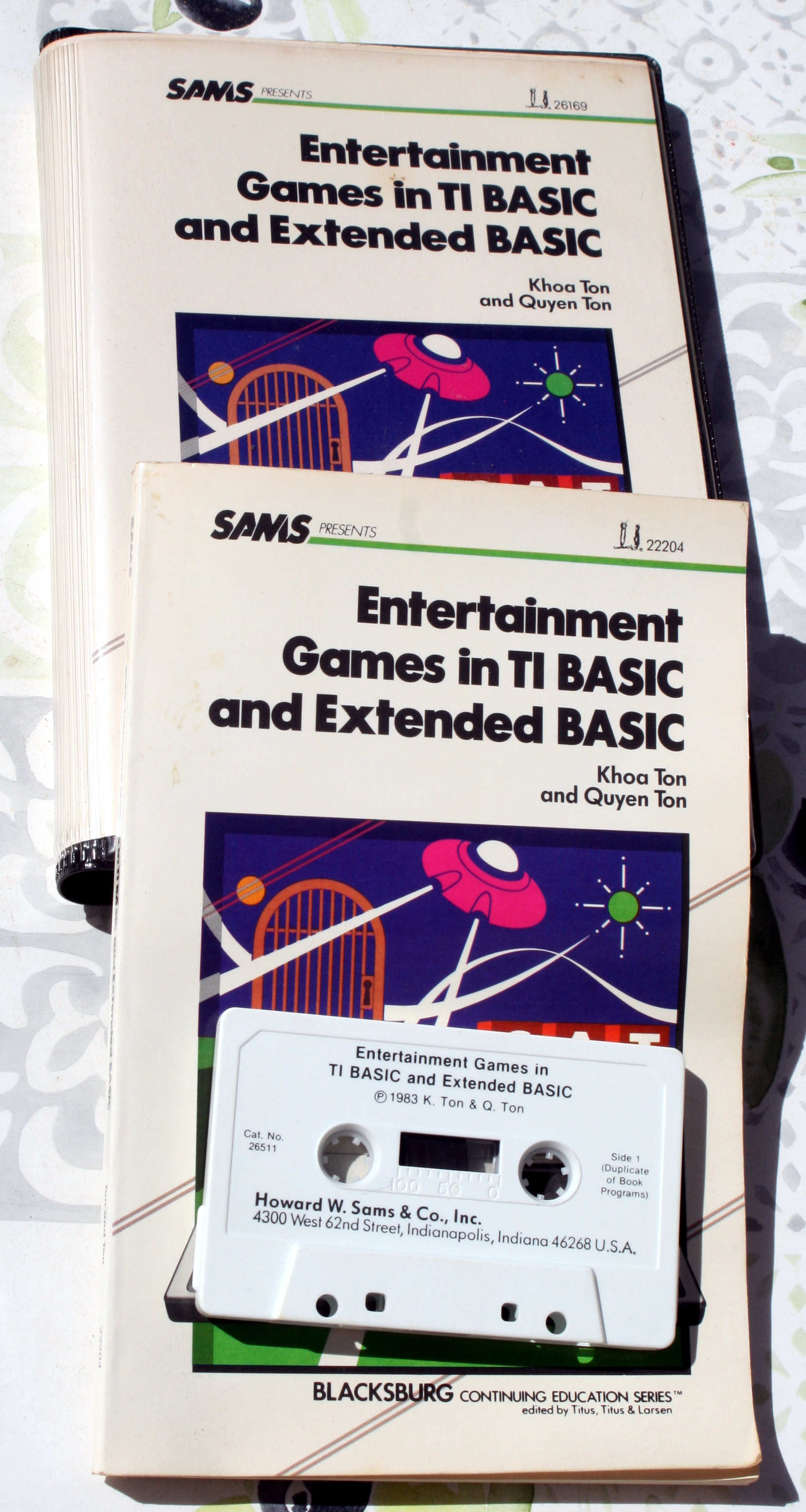 Entertainment Games In TI Basic & EX
