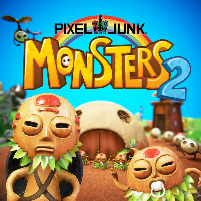Poster for PixelJunk Monsters 2