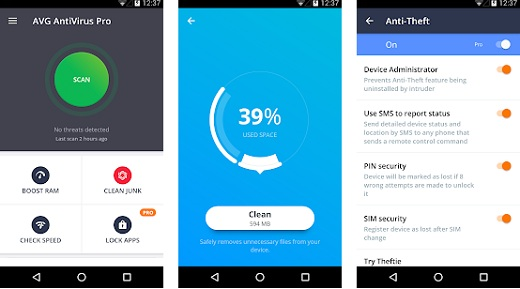 AntiVirus PRO Android Security v6.10.9 [Paid] 180526093133735632