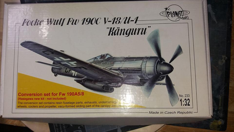 FW 190 C V 18  - 1/32 hasegawa + planet model 180528113326661129