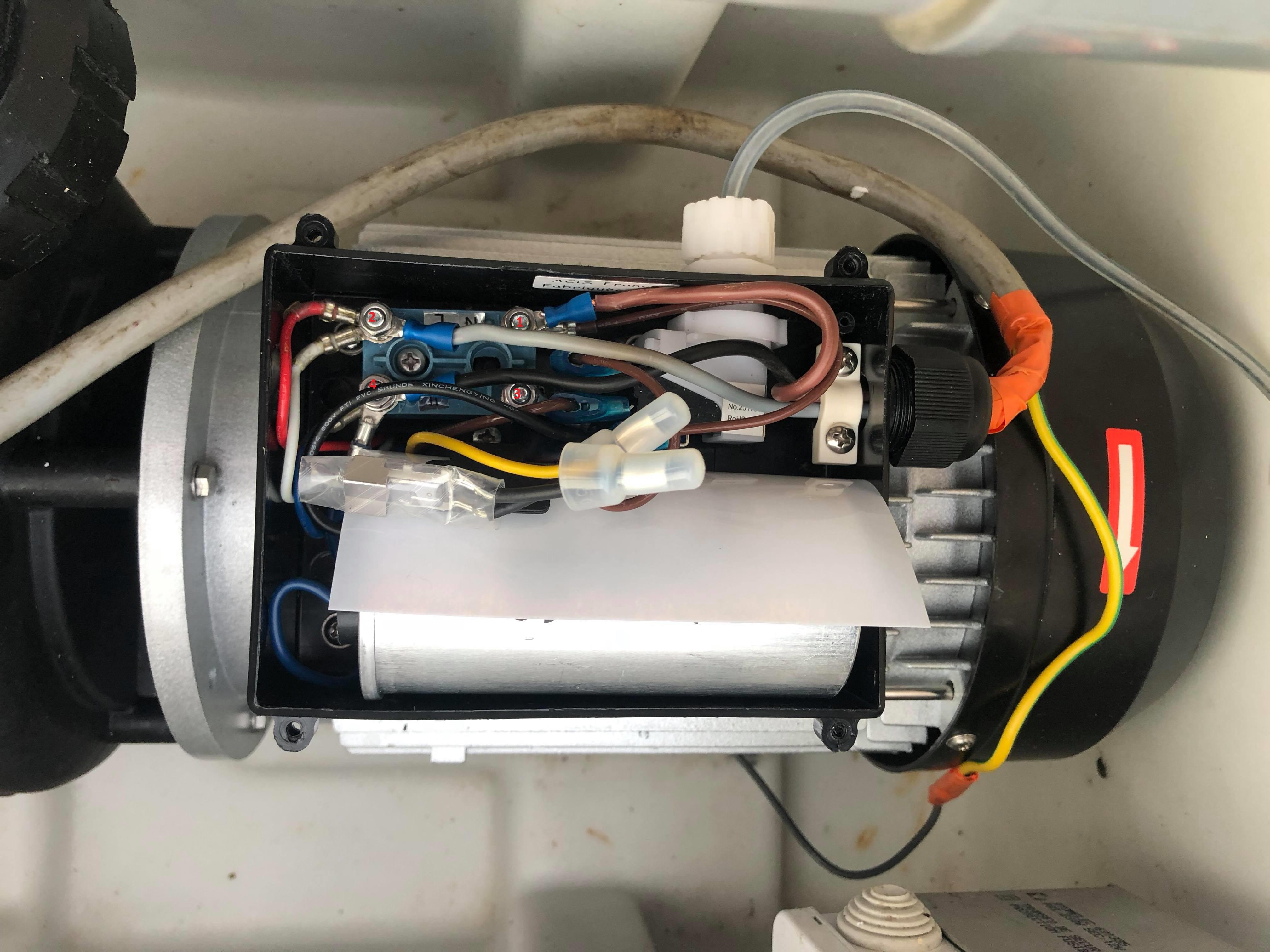 Hot Tub brancher le câblage