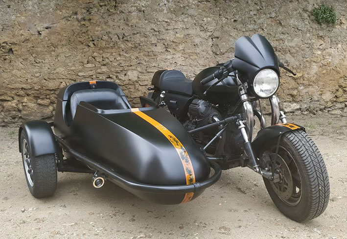 Adh/ésif Moto Guzzi Noir /& Argent 5 cm 3D R/ésine