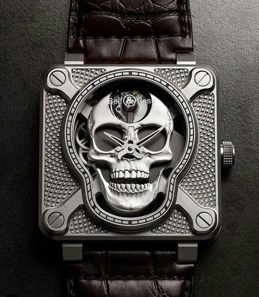 BR 03-92 Transparent Skull 180530045853558864