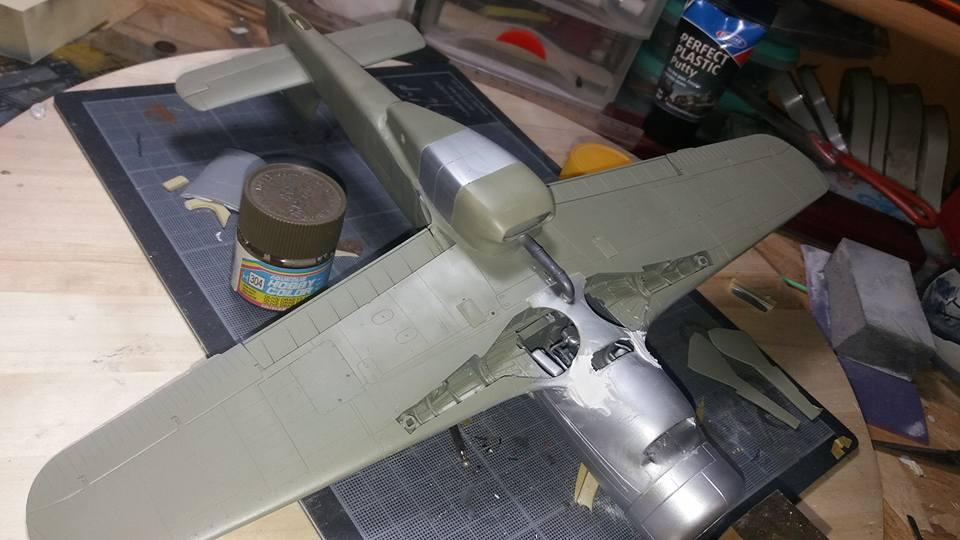 FW 190 C V 18  - 1/32 hasegawa + planet model 180602071404172982