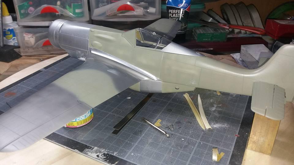 FW 190 C V 18  - 1/32 hasegawa + planet model 18060207140435465