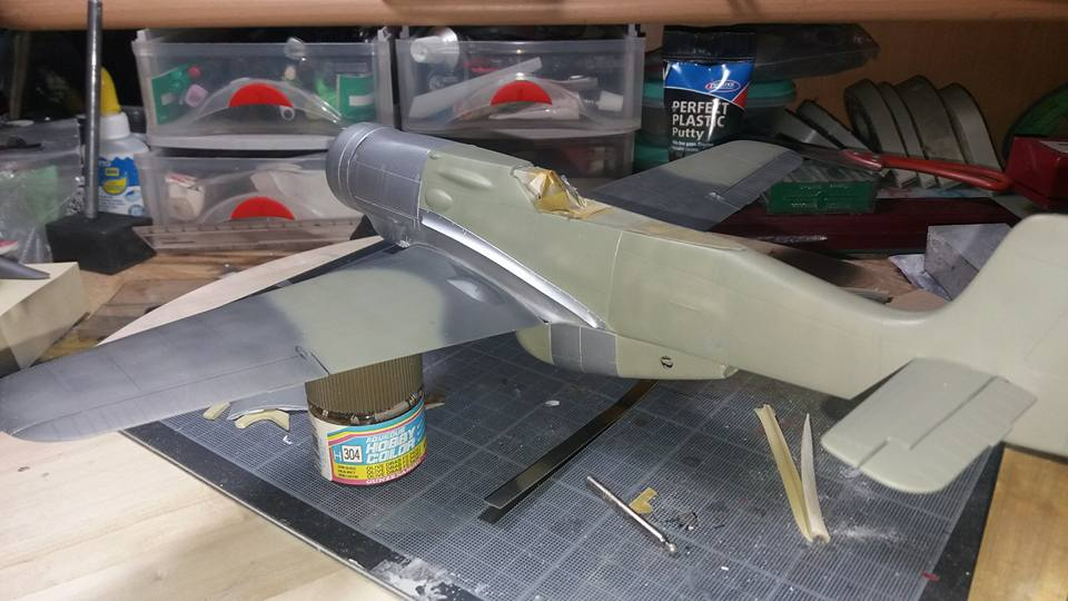 FW 190 C V 18  - 1/32 hasegawa + planet model 180602071404421797