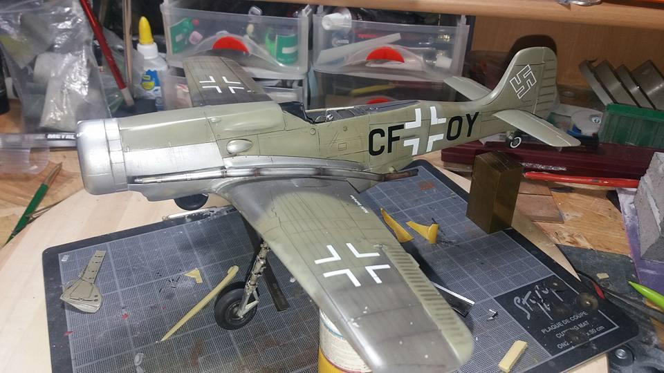 FW 190 C V 18  - 1/32 hasegawa + planet model 180603070151147050