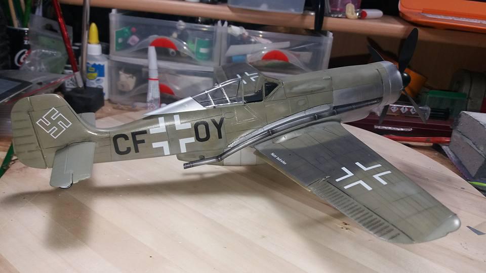 FW 190 C V 18  - 1/32 hasegawa + planet model 180604125249281905