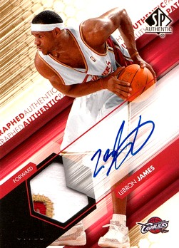 Z - L. James - SP Authentic Auto GOLD
