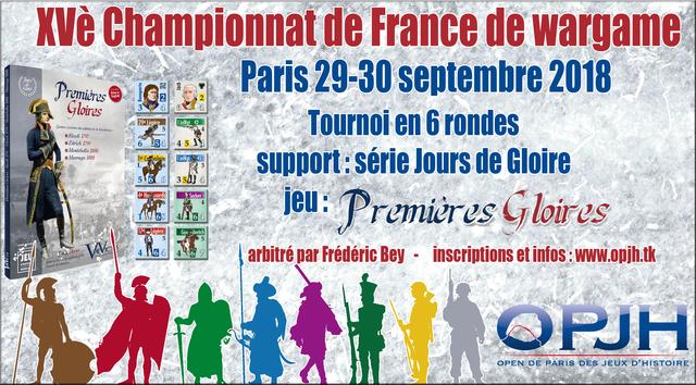 IVè Open de Paris des Jeux d'Histoire: 28 au 30 septembre 2018 18060509300410031