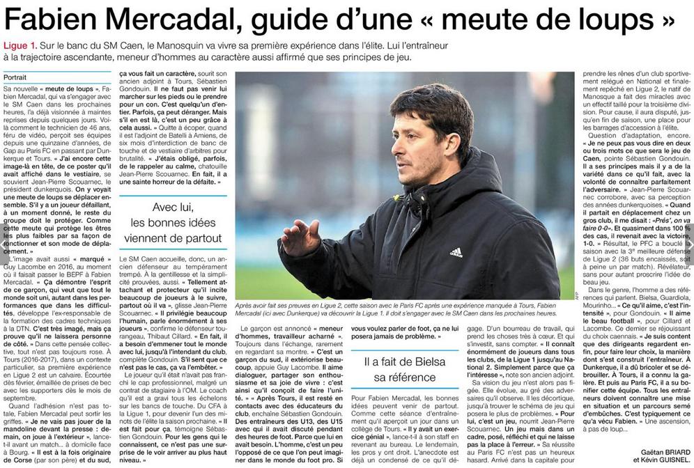 Fabien Mercadal nouvel entraineur du SM Caen 180607090028389544