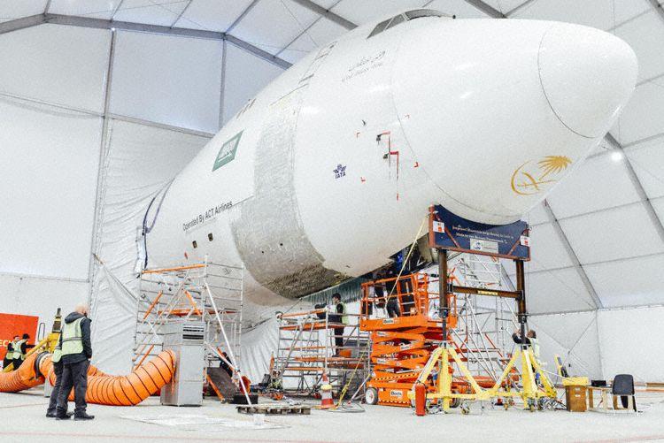 747 maastricht repair