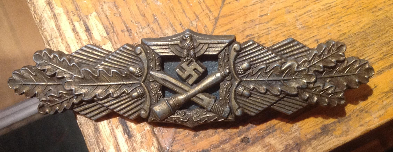 Nahkampfspange AGMUK en bronze 18061010003033294