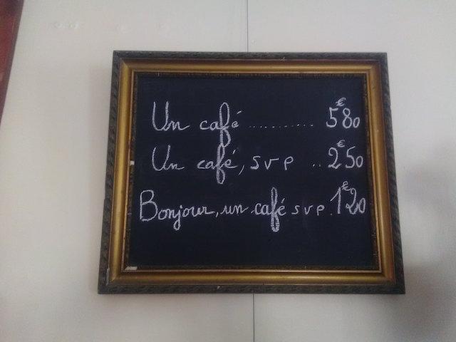tableau bar