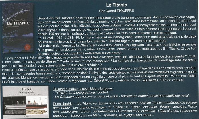 Le Titanic, Vérités et Légendes - Page 2 180616042303192448
