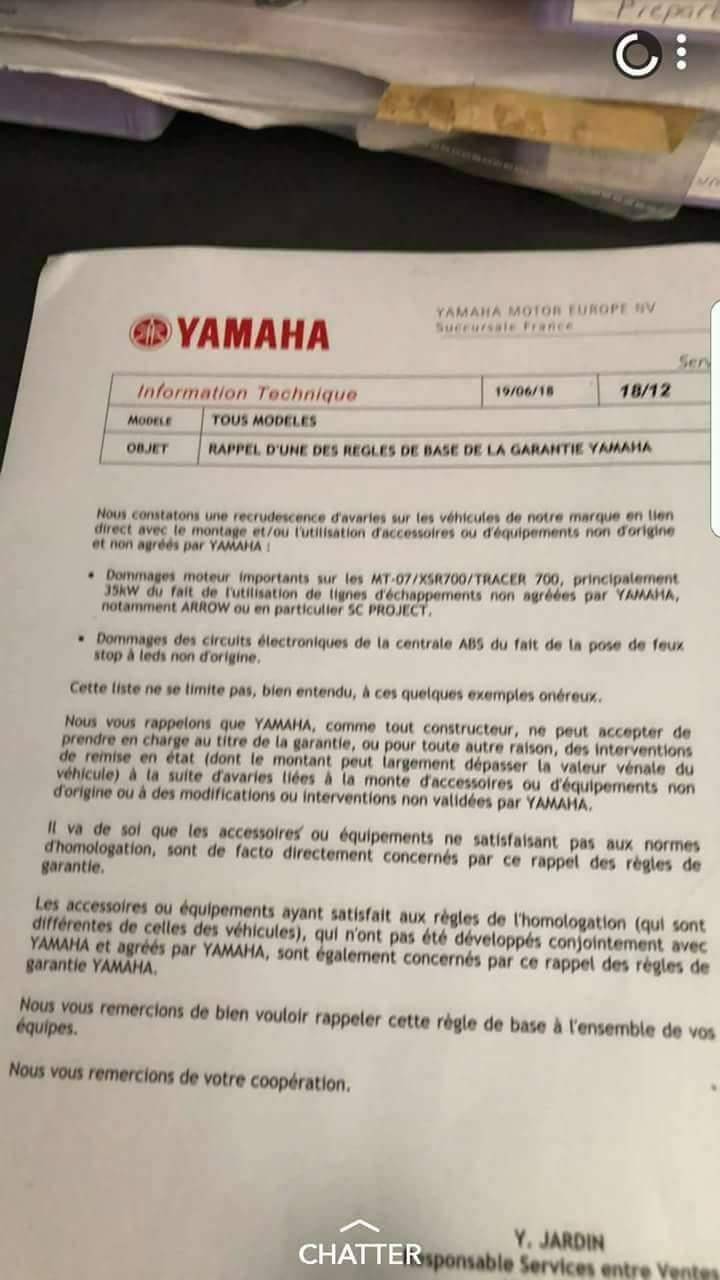 yamaha mt07 tracer und xsr700